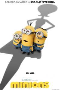 Minions Movie Cover